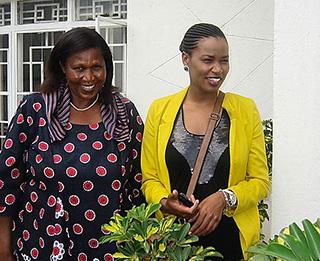 Rwanda's first female pilot